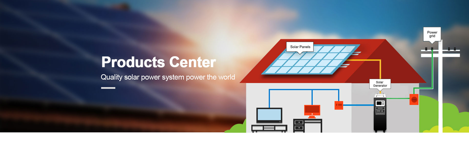 Solar-power-system-and-related-products